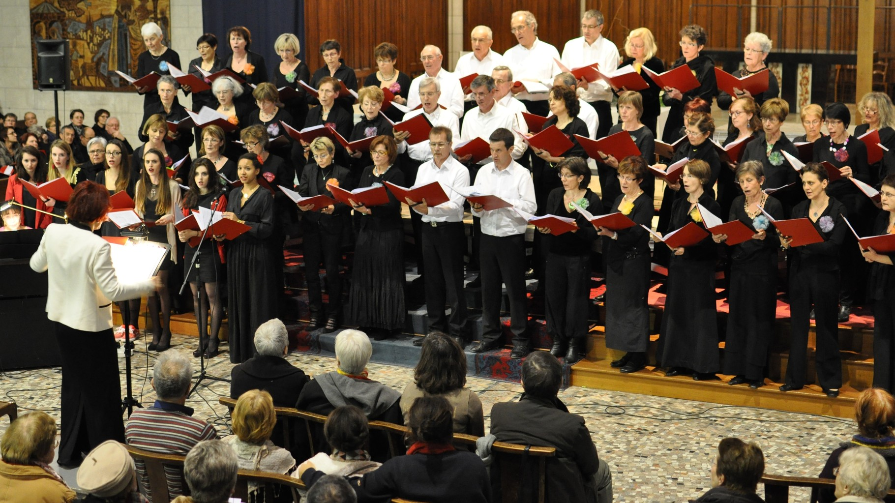 2014 - Concert pour l'ADOT, en l'église Jeanne d'Arc de Clermont-Ferrand
