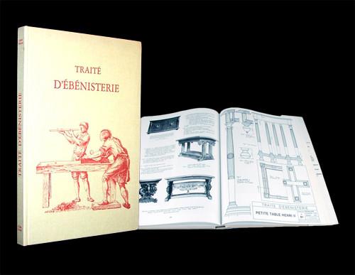 Traité d'ébénisterie de Lucien CHANSON Edition H. VIAL.
