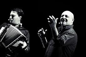 Con Peppe Lanzetta (Salerno 2010)