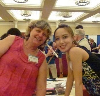 Avec/With Jasmine Choï, 1ère flûte du Vienna Symphony Orchestra (NFA/Las Vegas 2012)