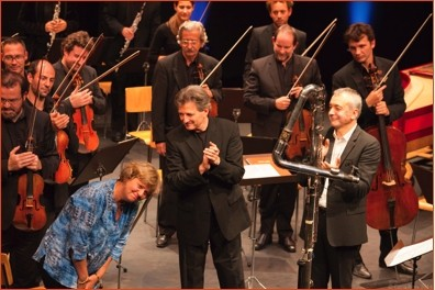 Aurore concerto, creation - La Côte Flute Festival 2015 (Suisse)