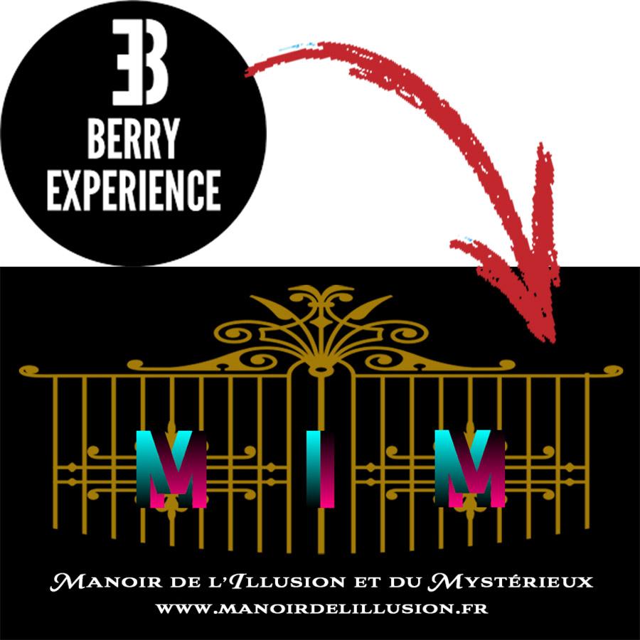 Berry Expériences devient Le Manoir de l'Illusion et du Mystérieux