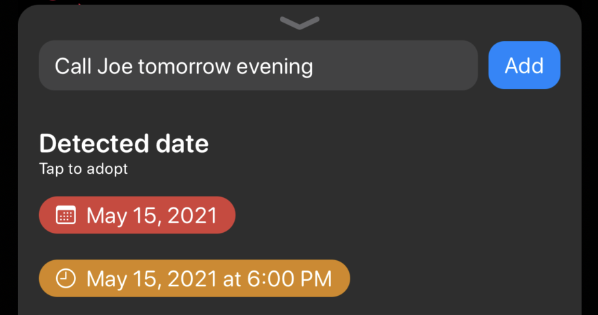 [Planny] Quickly Add Reminders or Dates