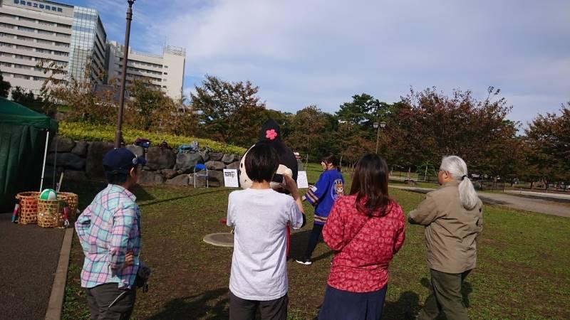 途中には、今川さんとの撮影会も。