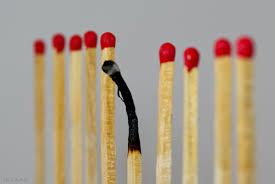 sporten met een burnout