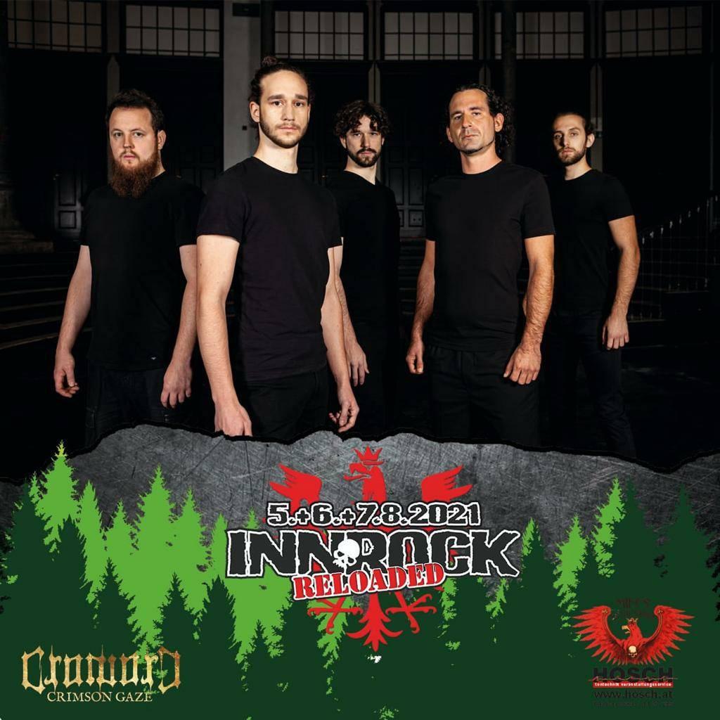 CroworD live at Innrock Reloaded Festival 2021