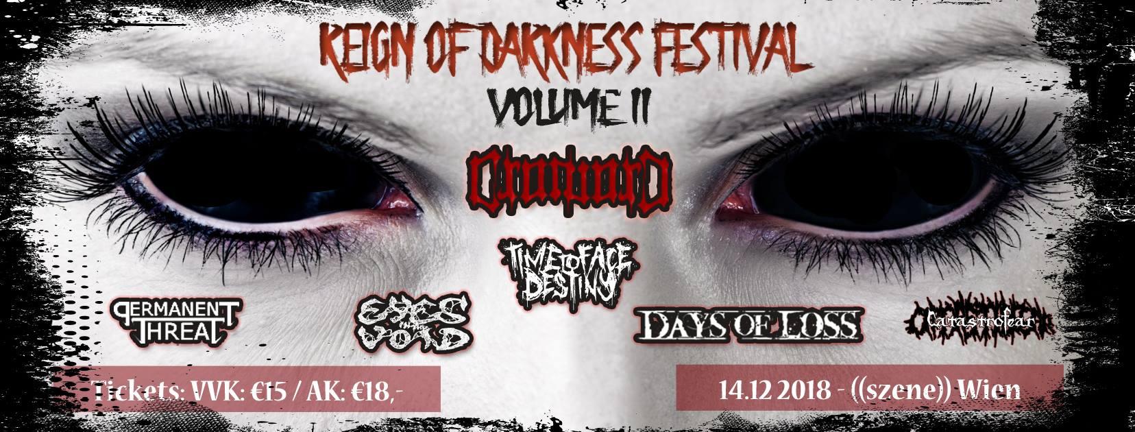 Show Update - Reign of Darkness Festival Vienna