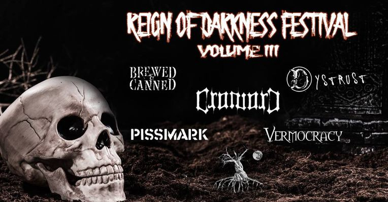 Headliner for Reign of Darkness Vol.III