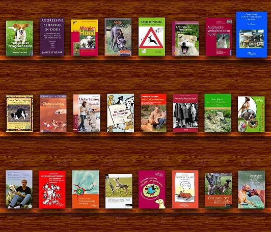 Bücherliste für Hunde