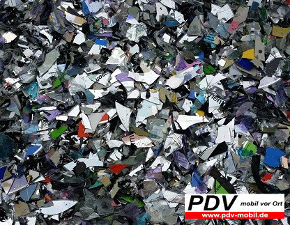 CDs, DVDs Vernichtung  (O)