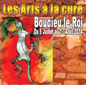 Les arts à la Cure - du 05 juillet au 17 août 2014 - Boucieu-Le-Roi