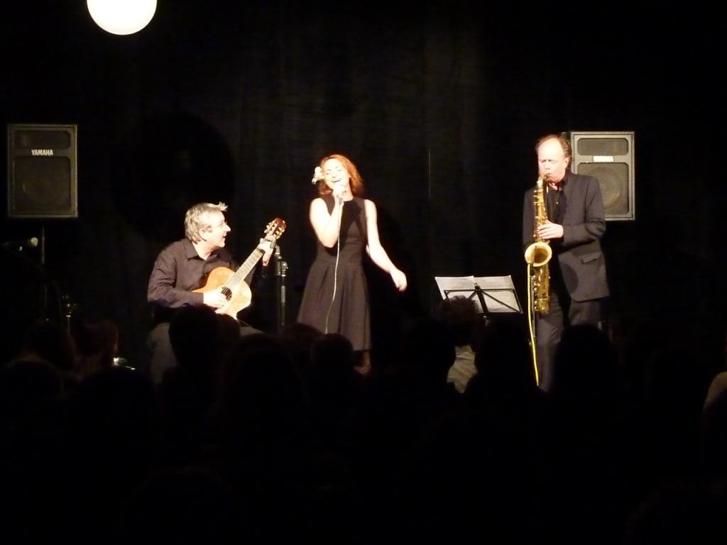 """Konzert beim """"Gallier"""" mit Sonnica und Matthias Nadolny"""