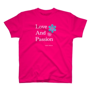 Love and Passion Tシャツ