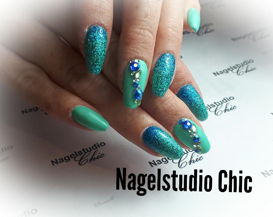 Summer nails! Echt mooie strand nagels