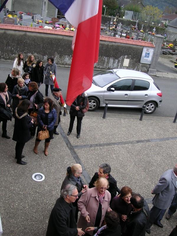 Exposition et le Vin d'Honneur à la Mairie