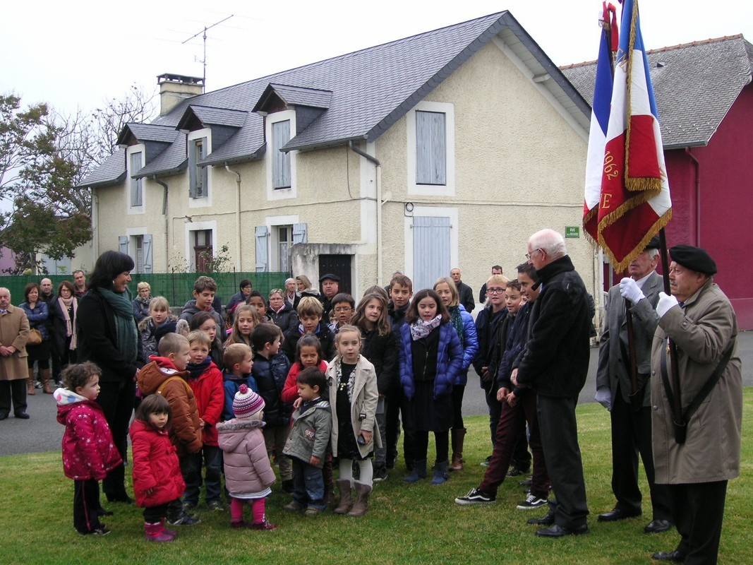 Les enfants chantent la Marseillaise