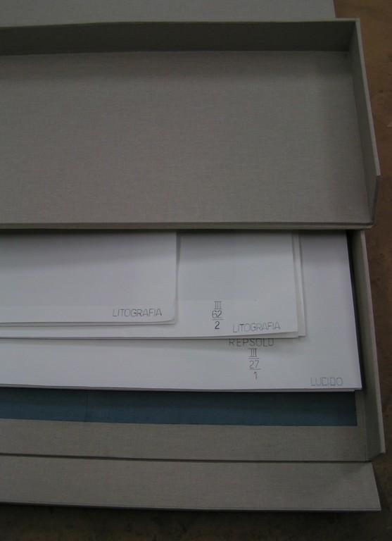 dettaglio scatola per la conservazione