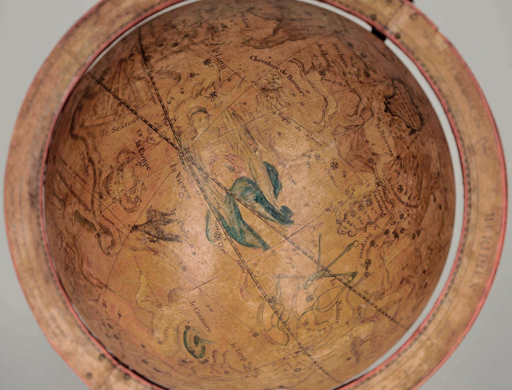 dettaglio globo celeste dopo