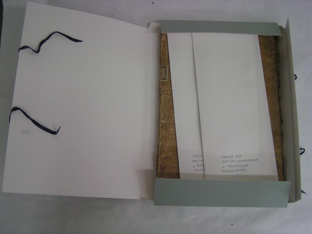 dettaglio scatola di conservazione
