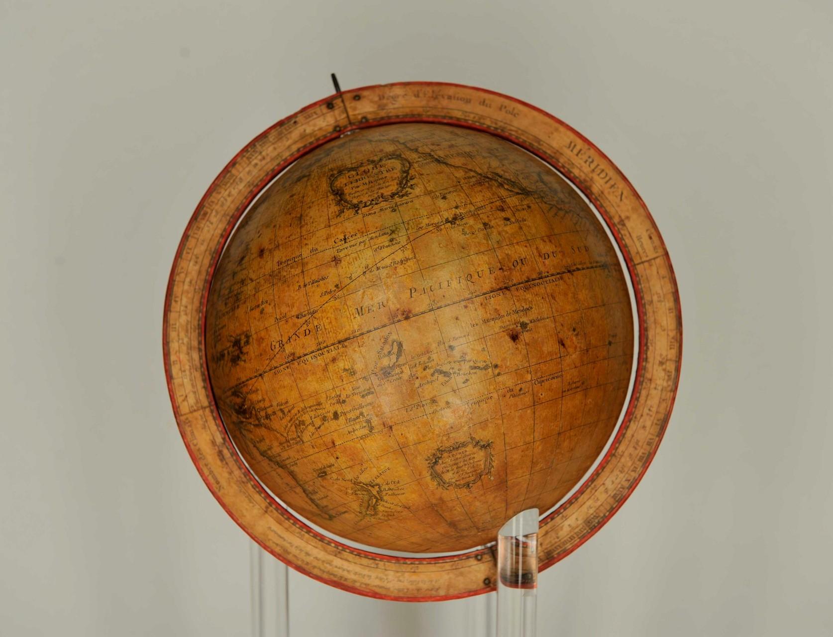 globo terrestre dopo