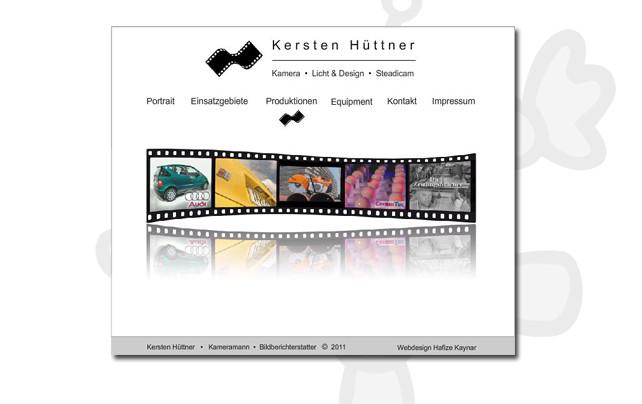 Kameramann Kersten Hüttner, München