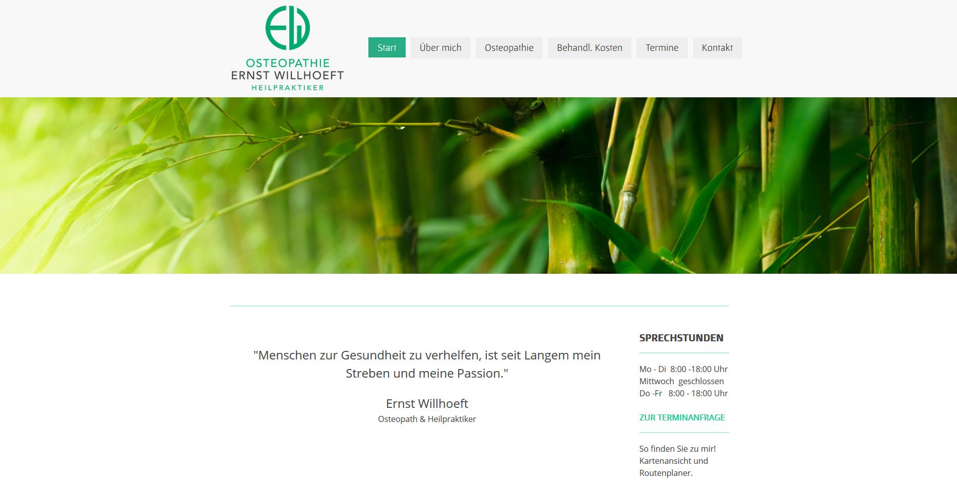 Osteopathie Ernst Willhöft, Bergstedt