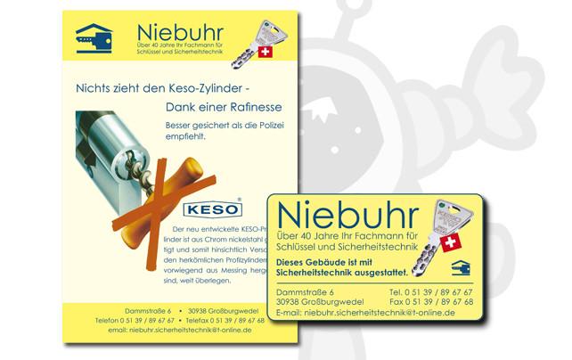 Schlüsseldienst Niebuhr, Großburgwedel
