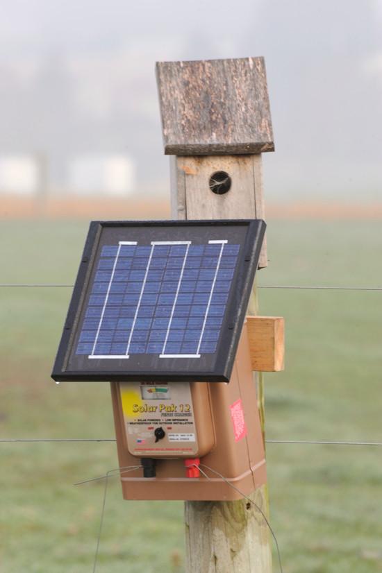 ソーラー電気柵
