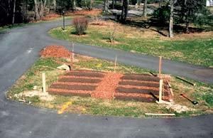 堆肥を加える