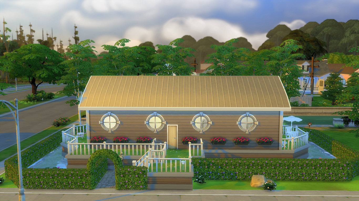 Sims 4 - Mobylhome Surleau