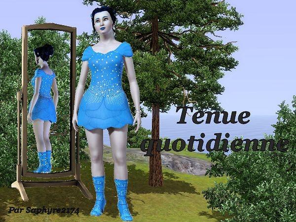 Saphyre ELFEGENYA - www.simsdelirescreations.fr