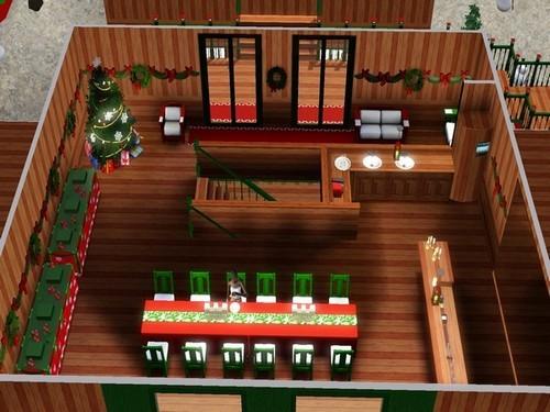 Aux couleurs de Noël - www.simsdelirescreations.fr
