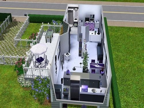 La Mobylhome Modern' - www.simsdelirescreations.fr
