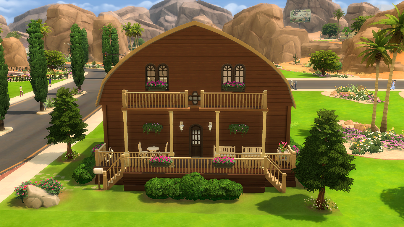 Sims 4 - Châlet Montjoly