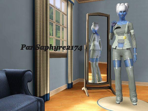Sims 3 - Zéphyrine SILMARIEN