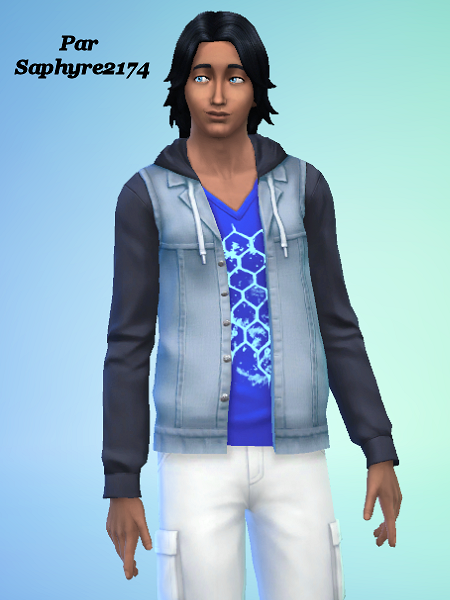 Sims 4 - Ethan VAILLANT