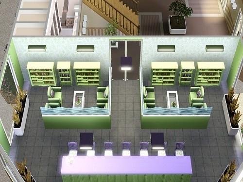Bibliothèque Vive Les Neurones - www.simsdelirescreations.fr