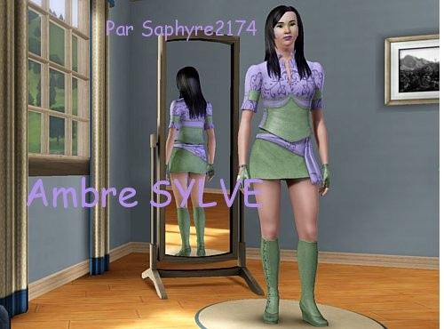 Sims 3 - Ambre SYLVE