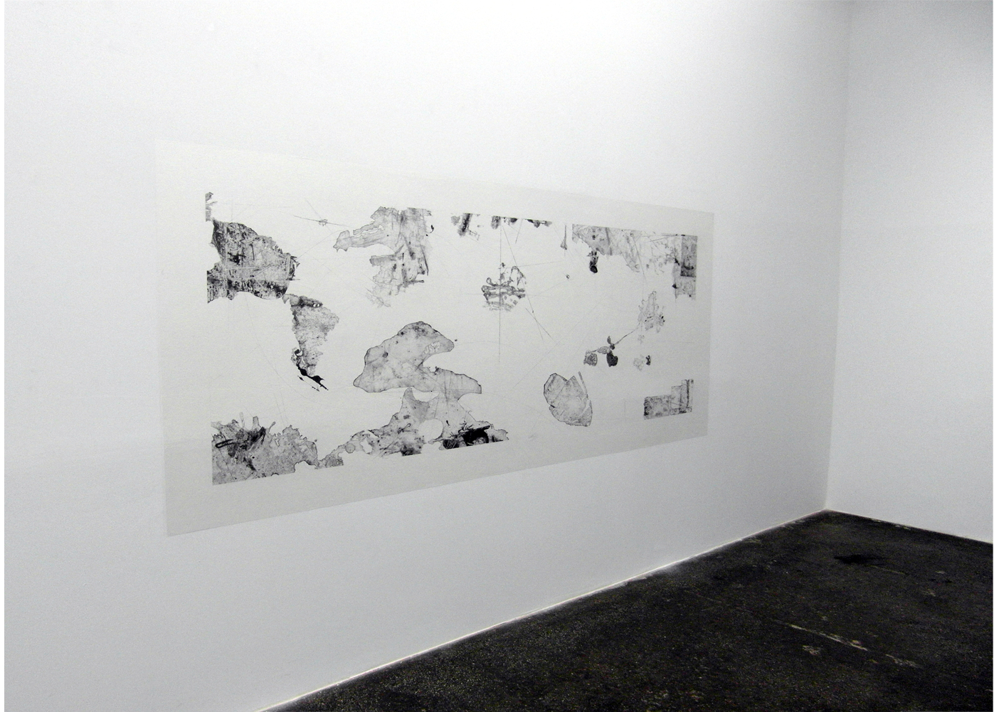 Ausstellungsansicht, Galerie Klaus Gerrit Friese, Stuttgart