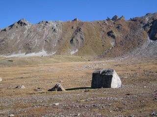 Une tente de bédouins dans le vallon désert !