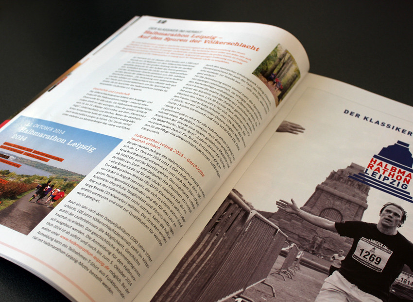 Die Sportmacher GmbH - Editorial Design