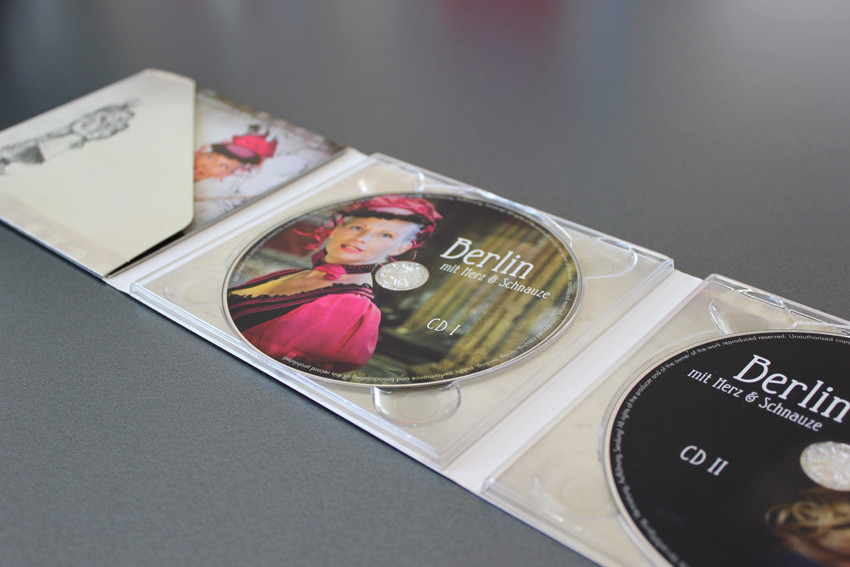 Velia Krause - CD Layout