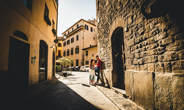 couple photoshoot florence
