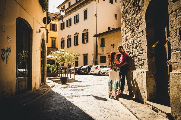 couple photoshoot florence italy