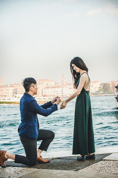 photographer venice surprise proposal