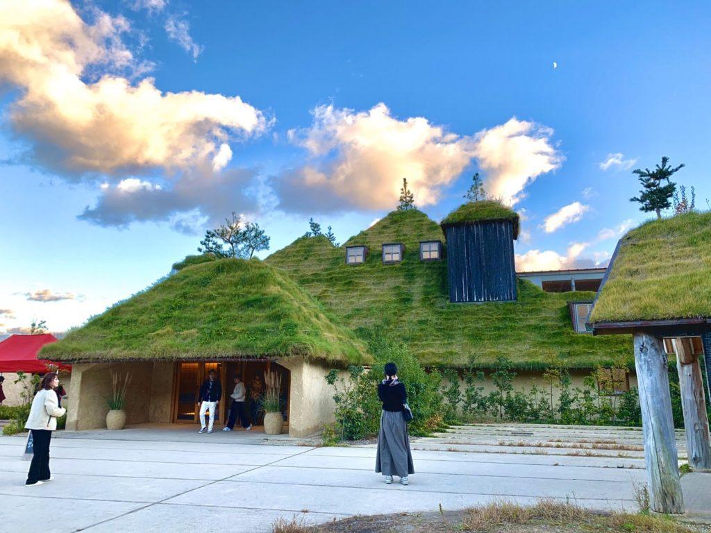 醸造所近くにある「ラ コリーナ近江八幡」美しい景観です。