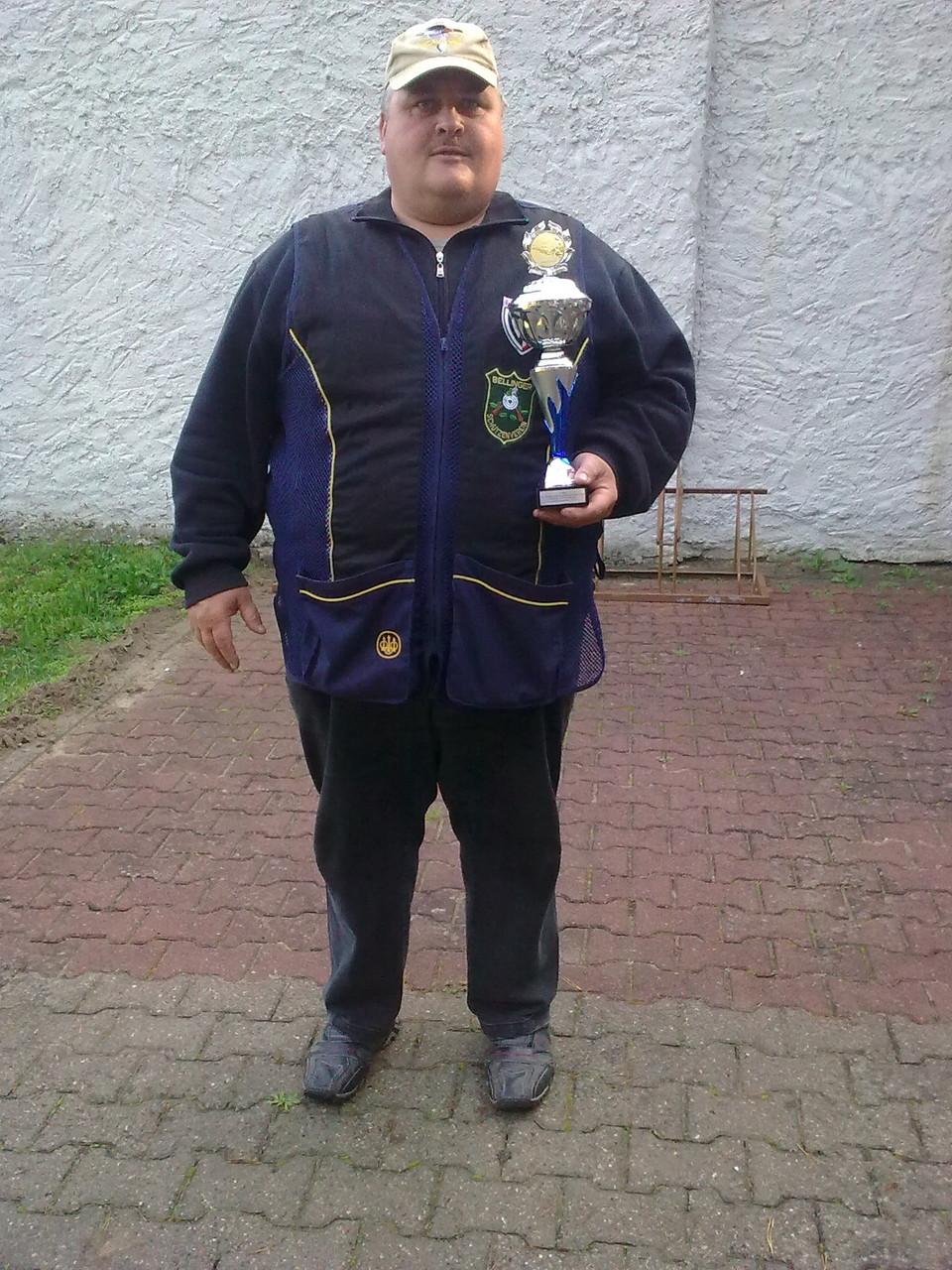 Andreas Pietz 1. Platz in der Alterklasse beim 10. Doppeltrapschießen am 04.10.15 in Torgelow