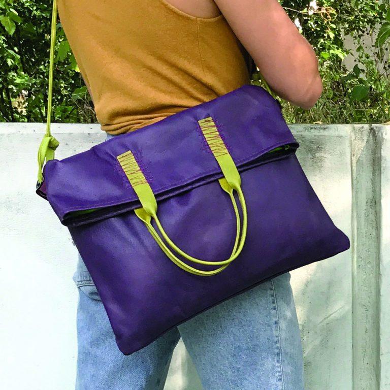 Volume bag violett