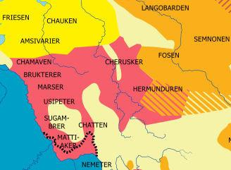 Germanien 50n.Chr.