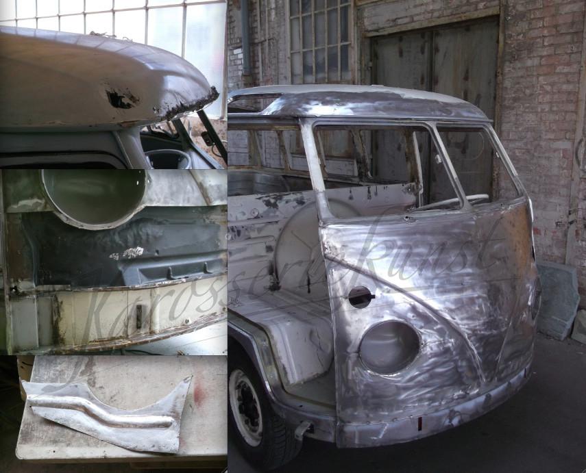 Frontmaske VW T1 komplett erneuert
